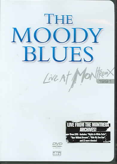 LIVE AT MONTREUX 1991 BY MOODY BLUES (DVD)